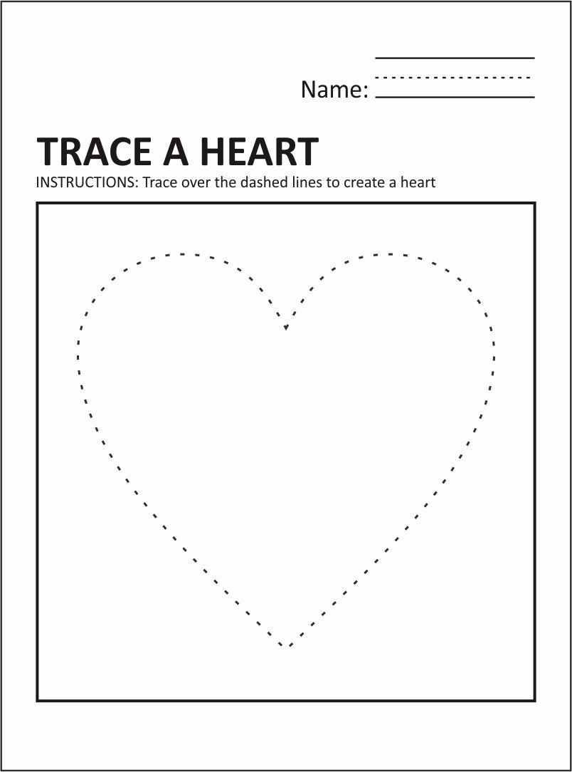 Valentine Preschool Worksheets Free