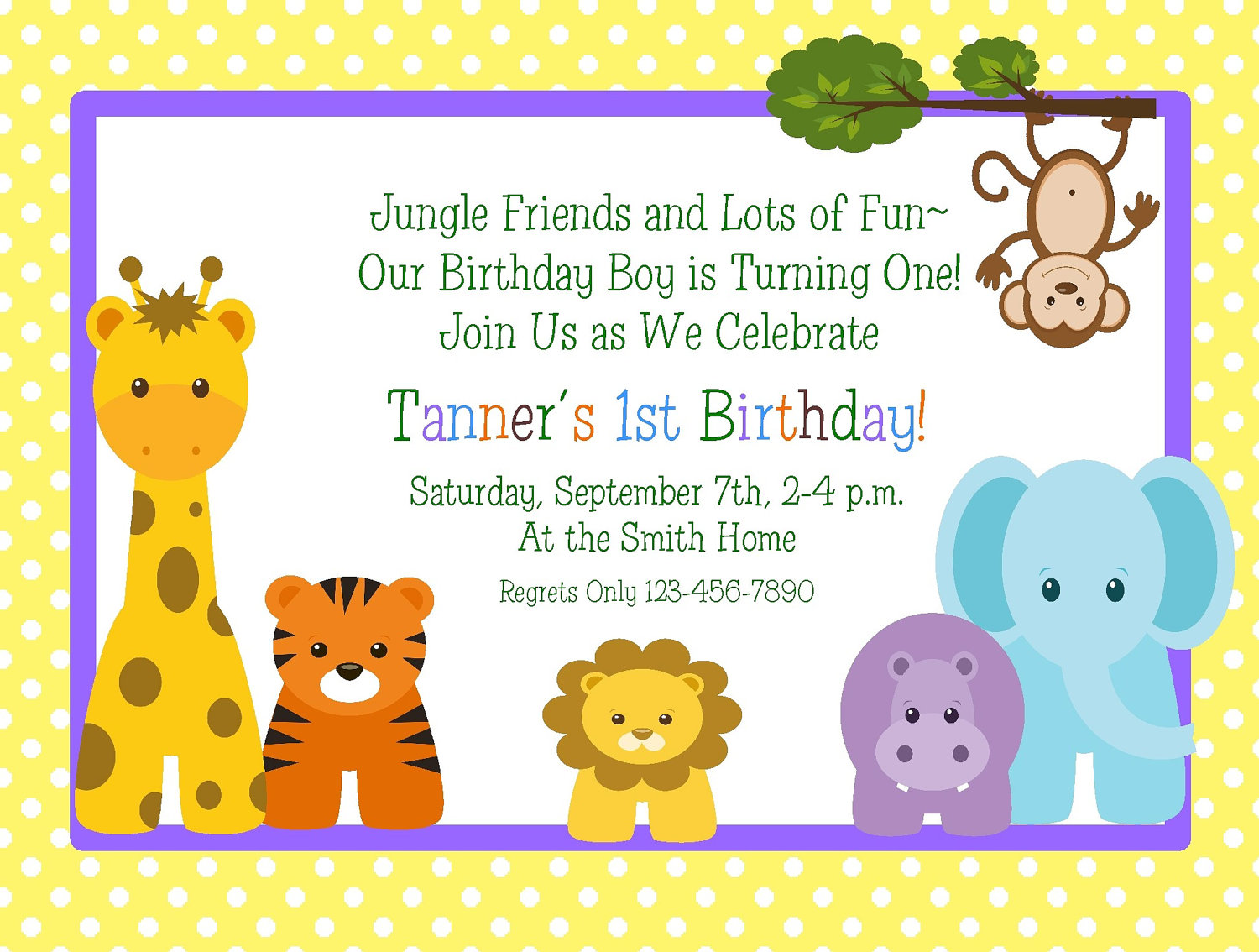 7 Images of Baby 1st Birthday Invitations Printable