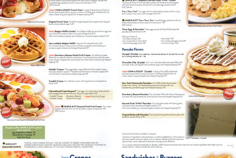 Up to date IHOP prices and menu, including breakfast, dinner, kid's meal and more. Find your favorite food and enjoy your meal/5().