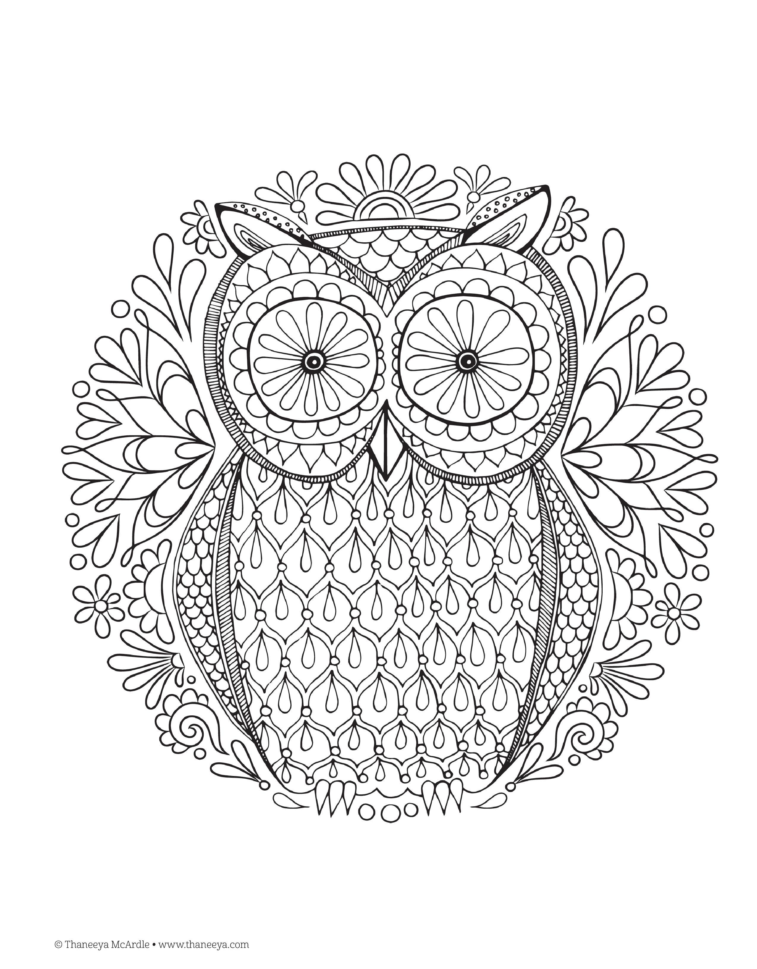 8 Images of Printable Adult Coloring Book Pages