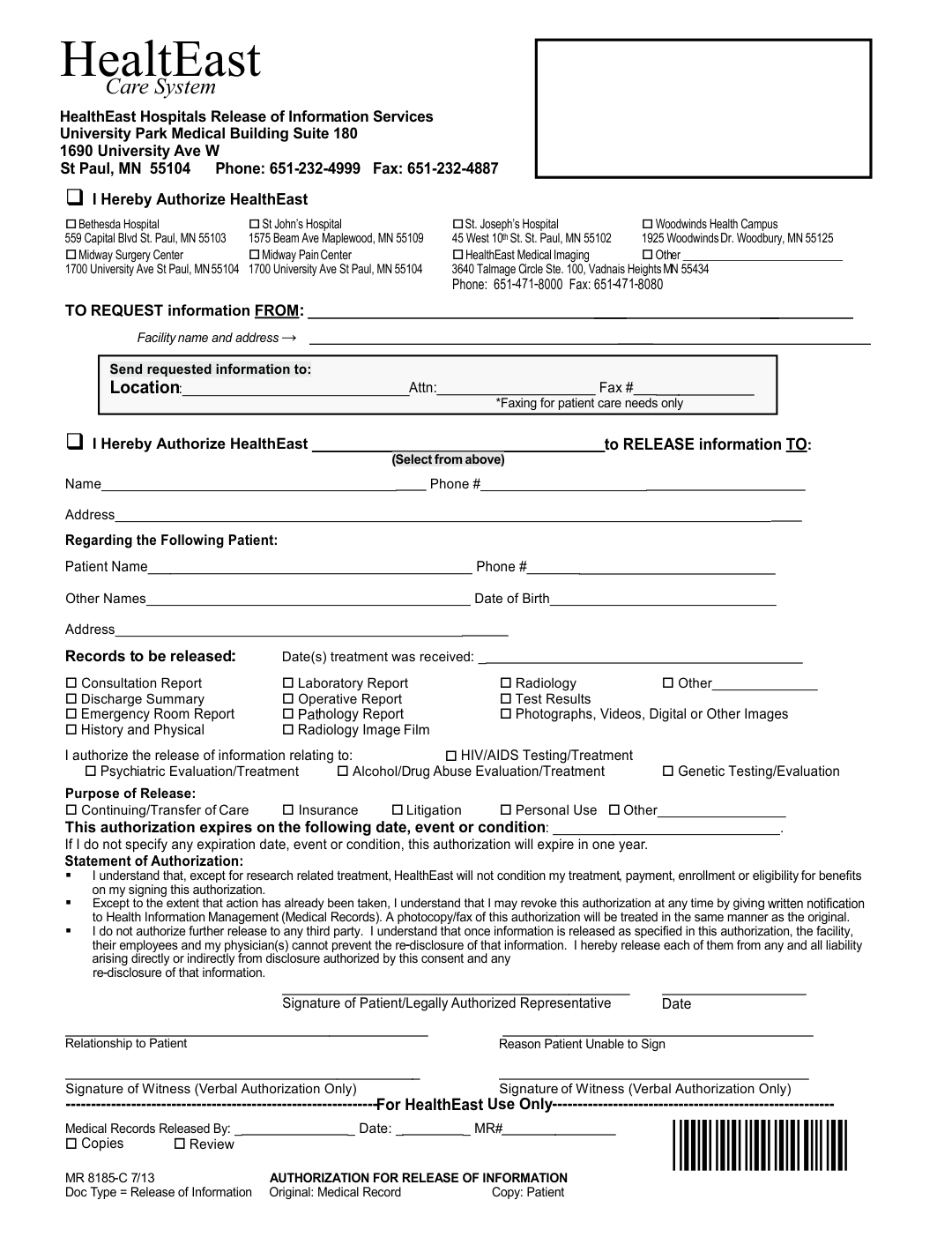 9 Best Images of Free Printable Hospital Discharge Forms Blank – Sample Against Medical Advice Form