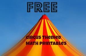 Circus Theme Printable Worksheets