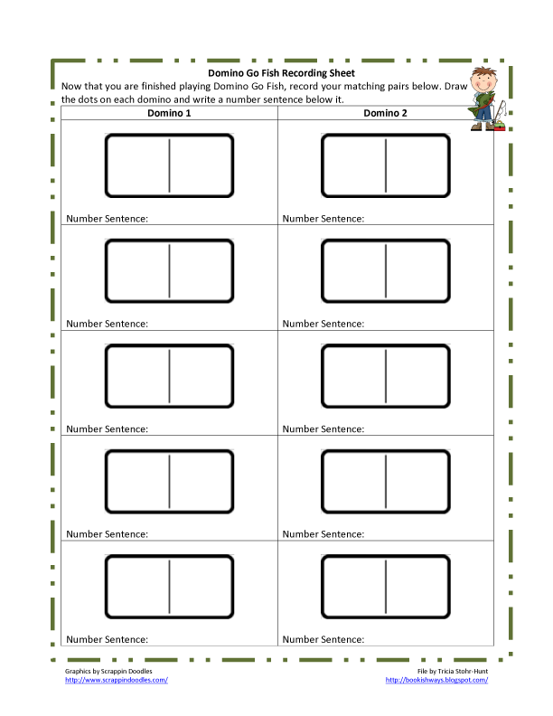 math worksheet : 5 best images of blank printable addition worksheets  blank math  : Domino Math Worksheets