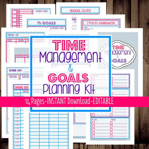 7 Images of Monthly Goals Filofax A5 Printables