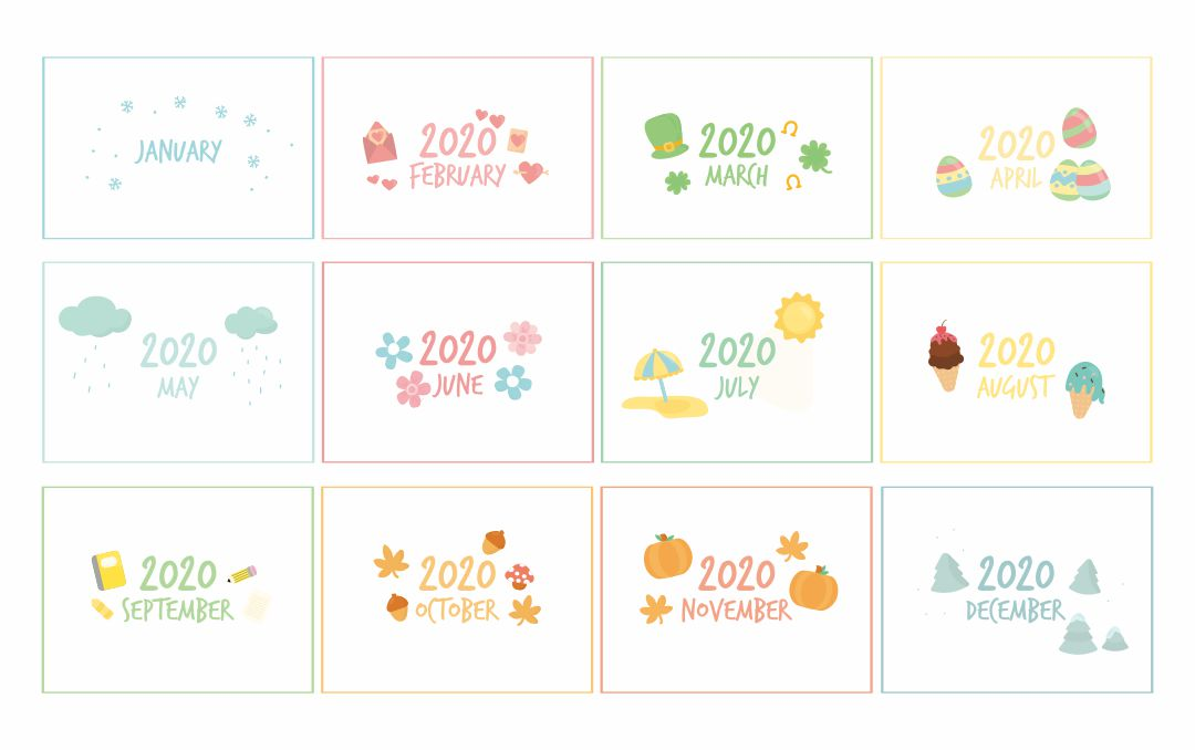 Calendar Monthly Headers : Best images of printable calendar month labels free