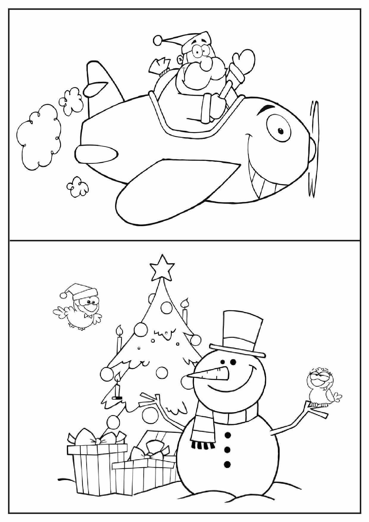 Printable Christmas Activity Pages