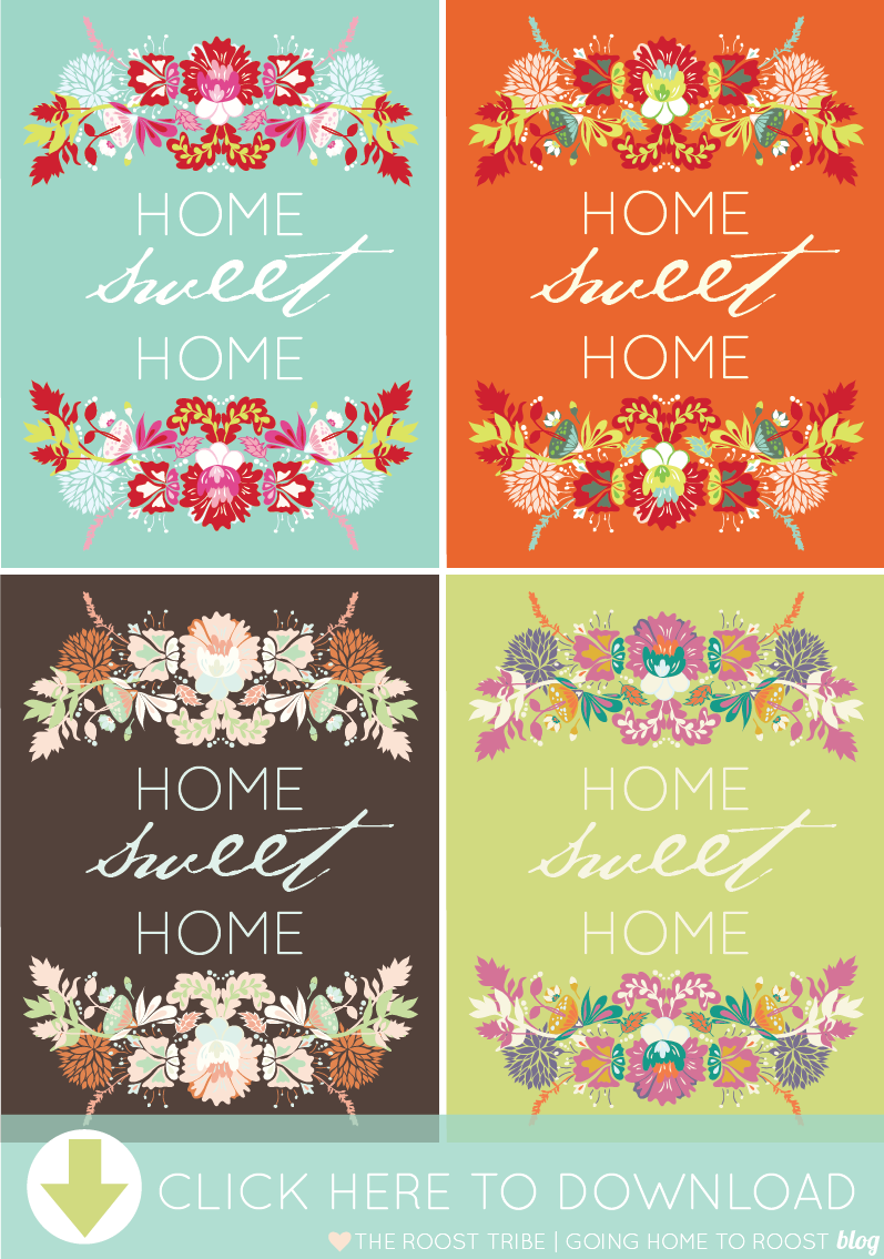 7 Images of Sweet Home Printable