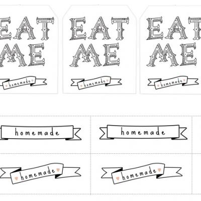 7 Images of Free Printable Homemade Labels