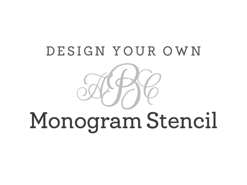 6 Images of Monogram Letter M Stencils Printable