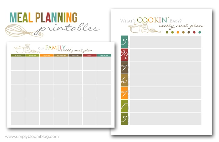 5 Best Images of Meal Planning Guide Printable ...