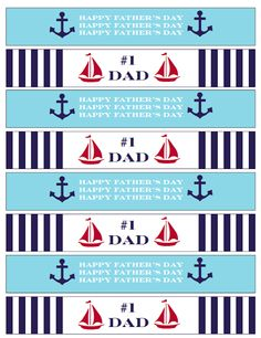 5 Images of Ahoy Nautical Theme Free Printables