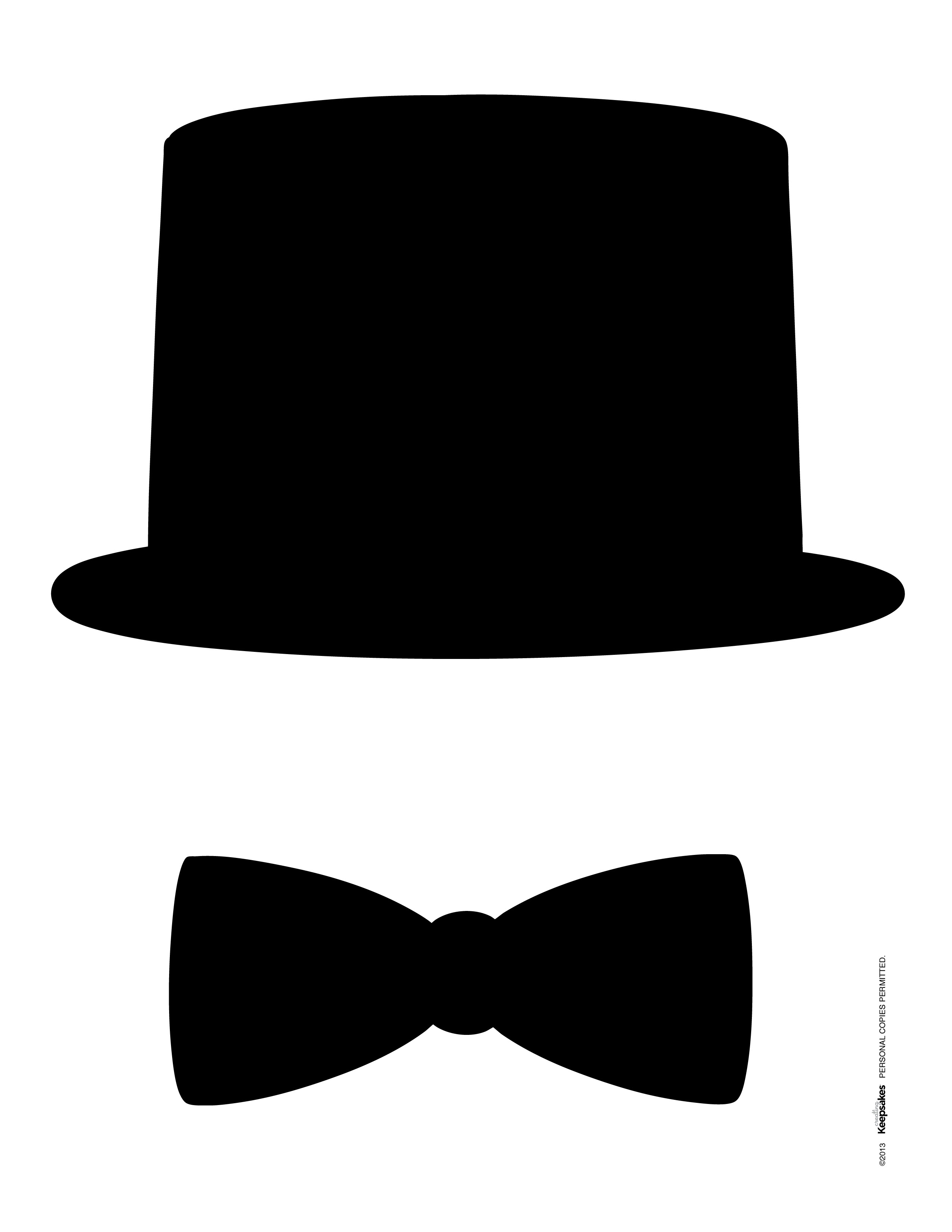 Top hat template for photo booth galleryhip com the hippest