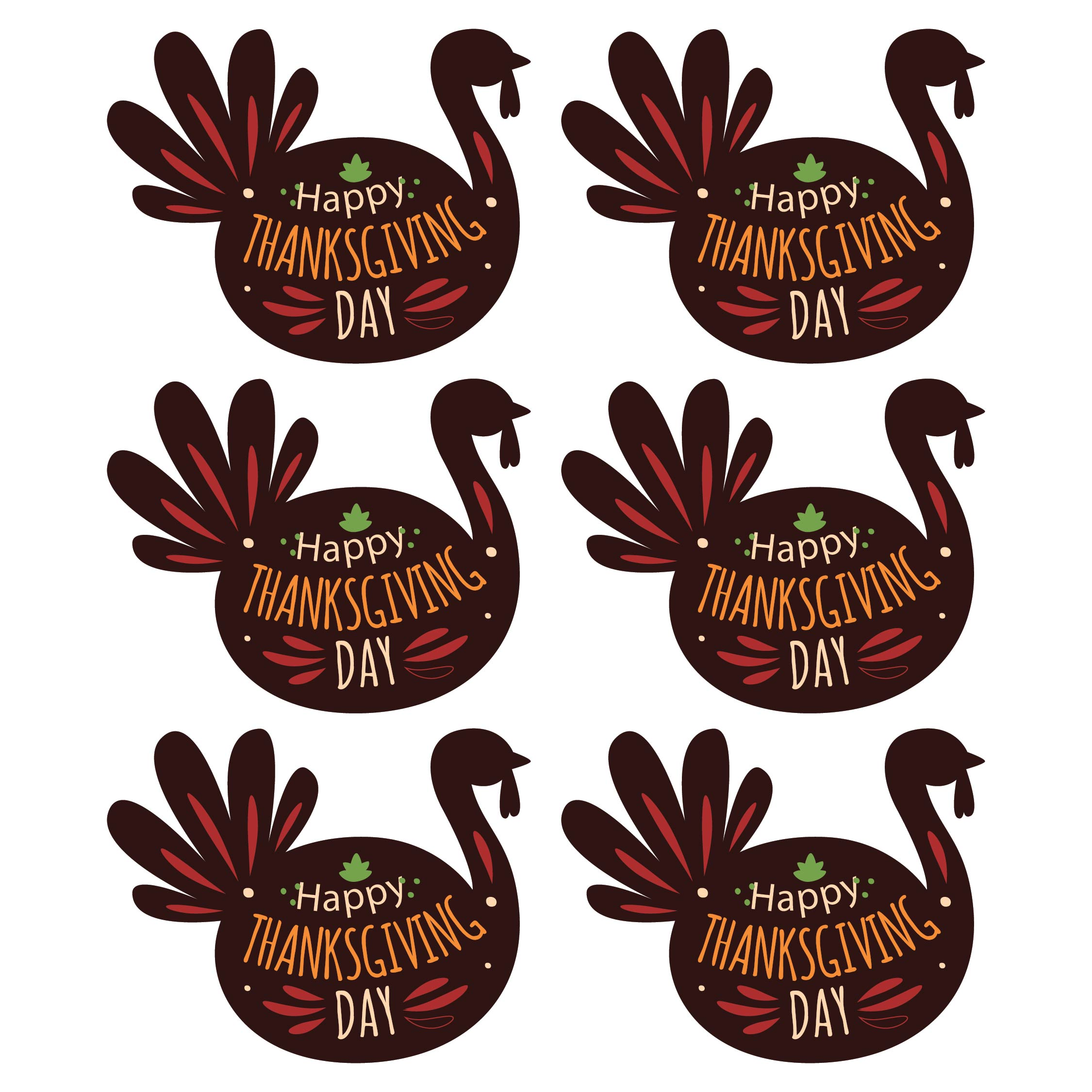 Printable Thanksgiving Gift Tags