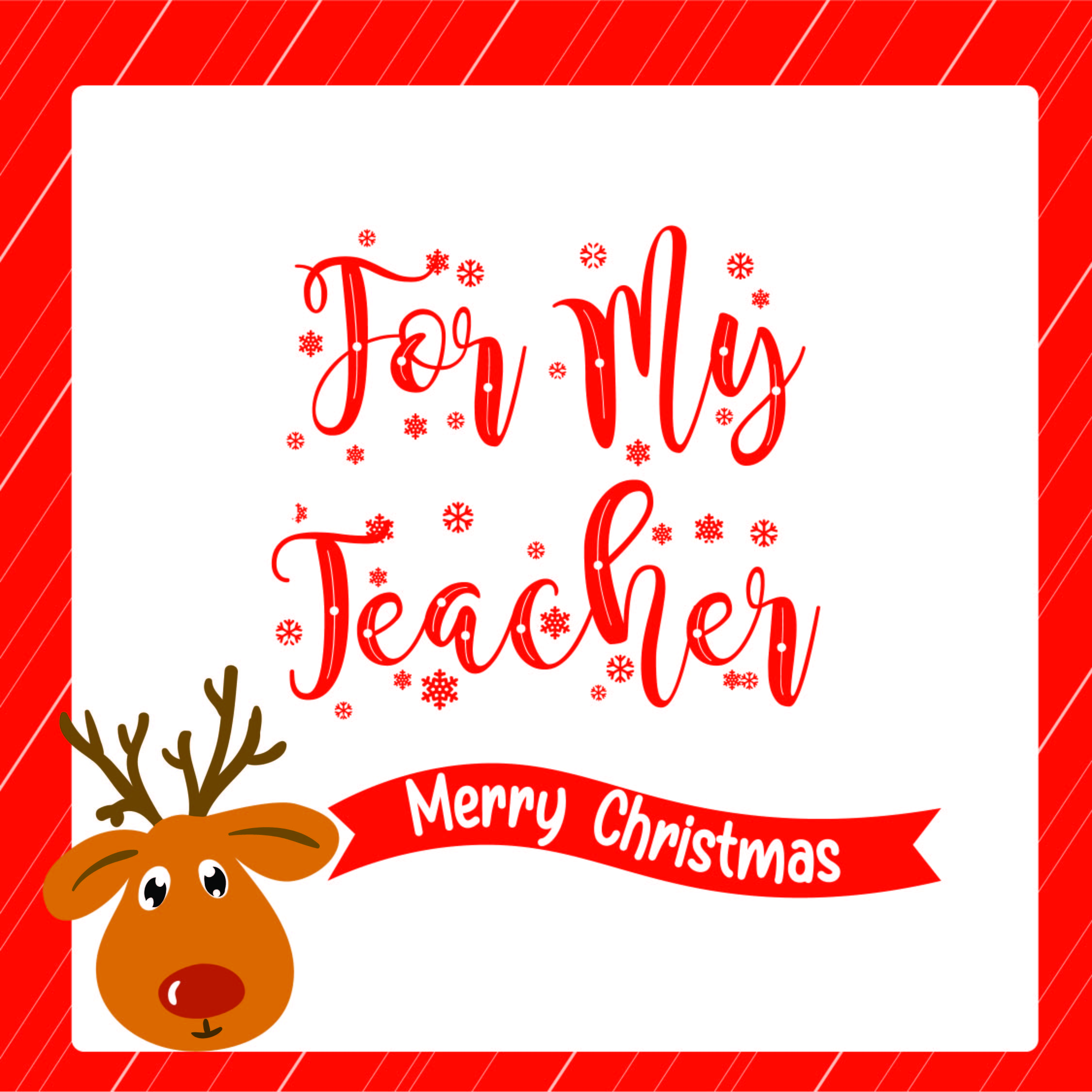 9 Images of Christmas Coloring Printable For Teacher Card