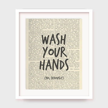 Funny Bathroom Art Prints