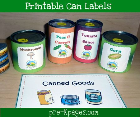 9 Images of Dramatic Play Grocery Store Printables