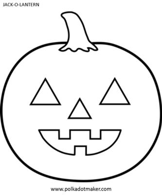 8 best images of jack o lantern templates printable for Halloween pumpkin painting templates