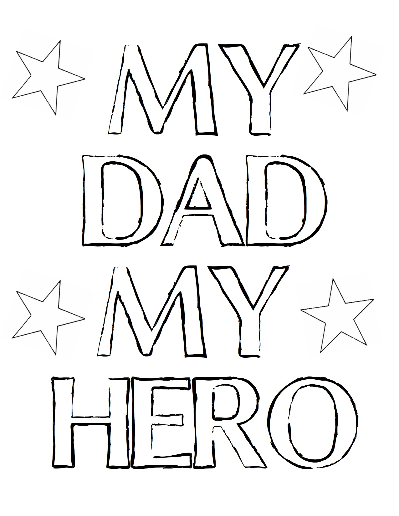 I Love You Dad coloring page | Free Printable Coloring Pages | 1650x1275