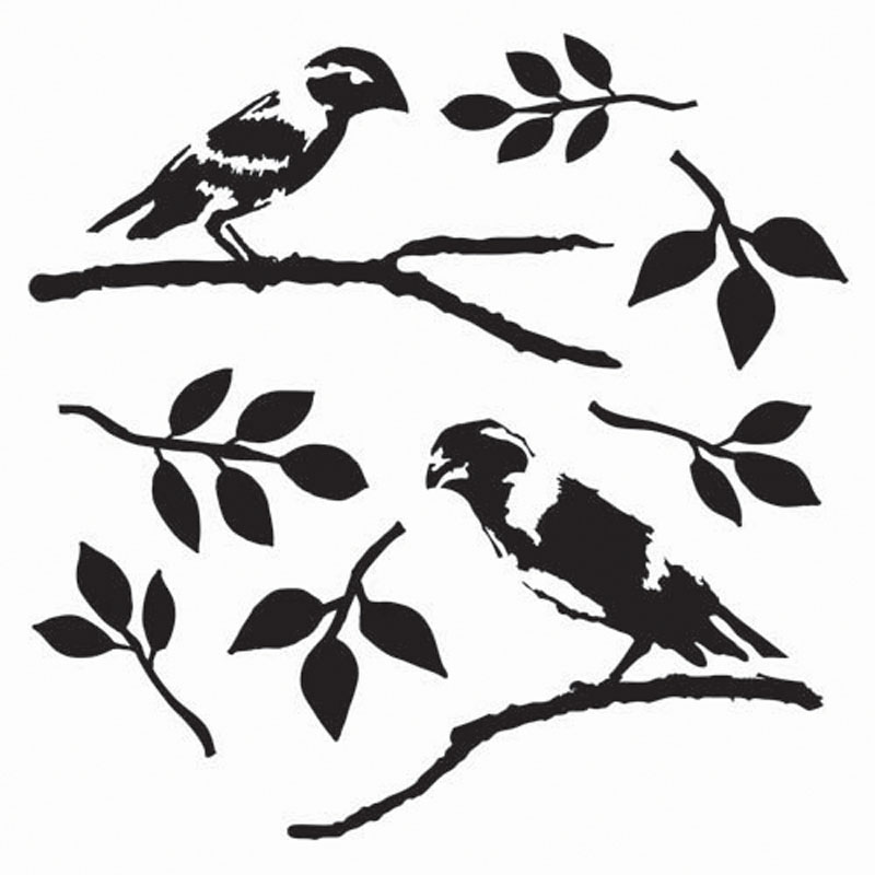8 Images of Simple Bird Stencils Free Printable