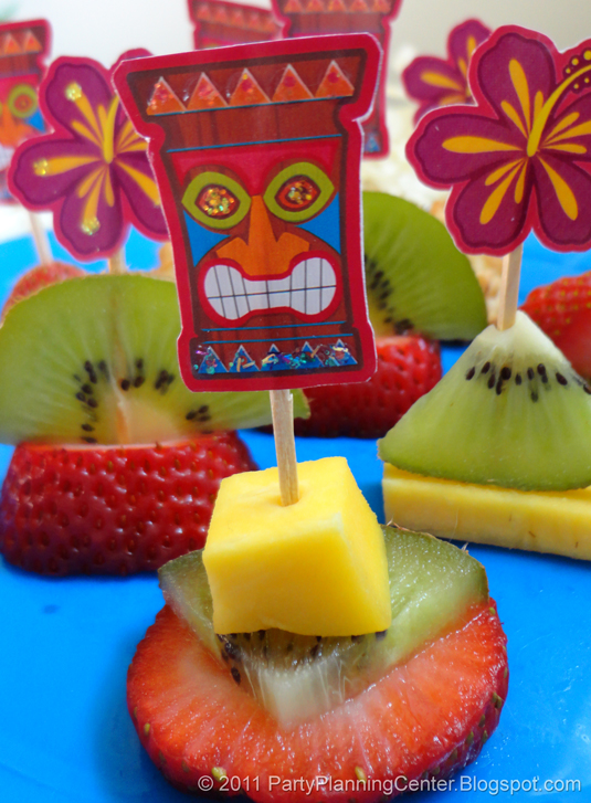 8 Images of Tiki Party Printables