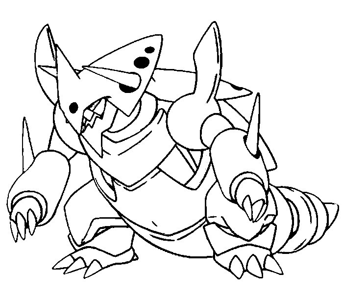 4 Images of Mega Pokemon Coloring Pages Printables
