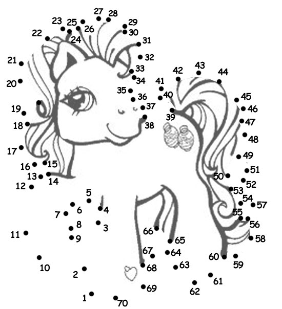 6 Images of My Little Pony Activities Printable