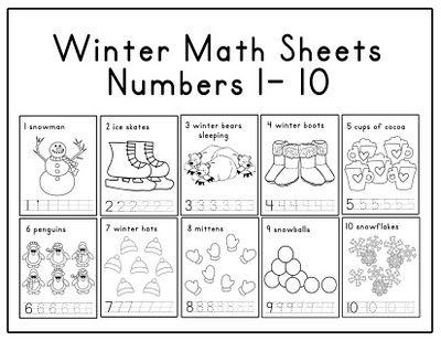 math worksheet : snowflake math worksheets free  educational math activities : Free Winter Math Worksheets
