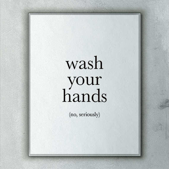 8 Best Images Of Funny Bathroom Art Printable Girly Bathroom Wall Art Quotes Printable