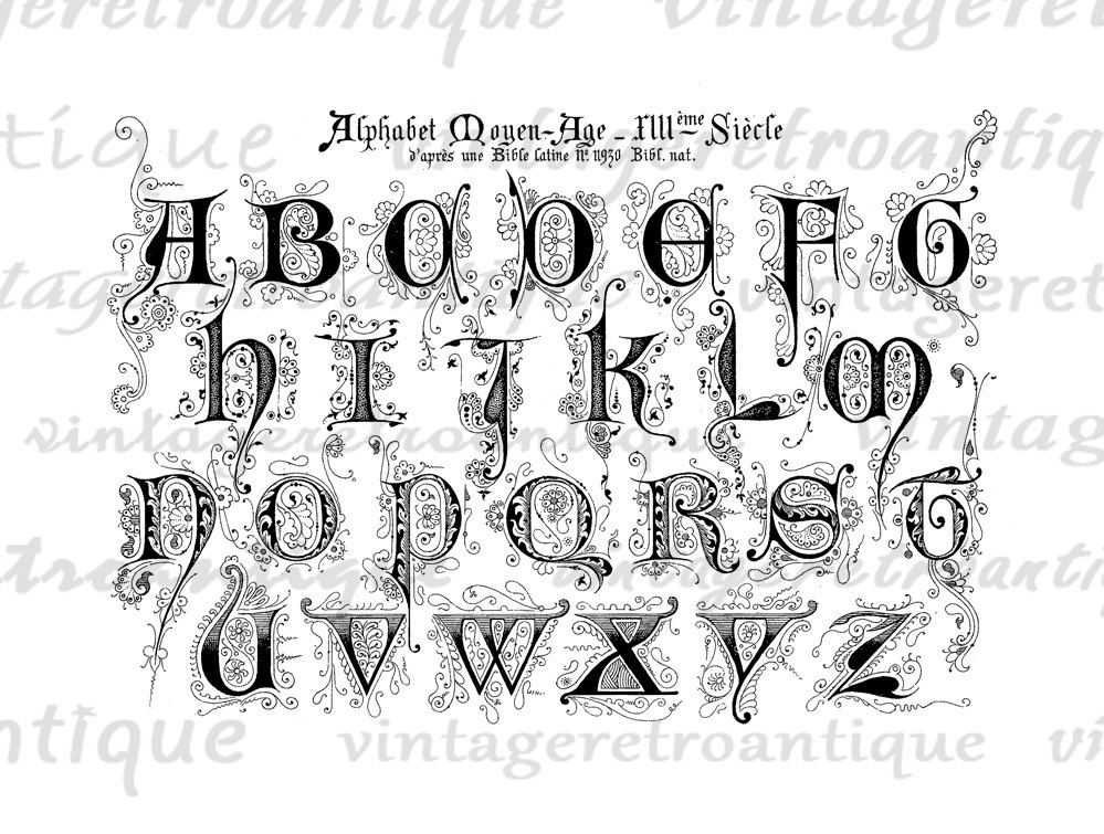 ... Alphabet Letter Styles and Alphabet Different Lettering Styles