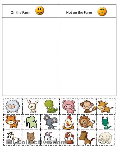 Printable Math Sorting Worksheets - 1000 images about big and small on pinterest sorting ...
