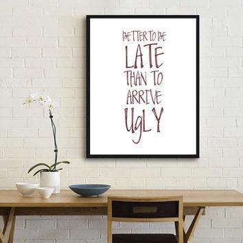 Printable Funny Bathroom Quotes