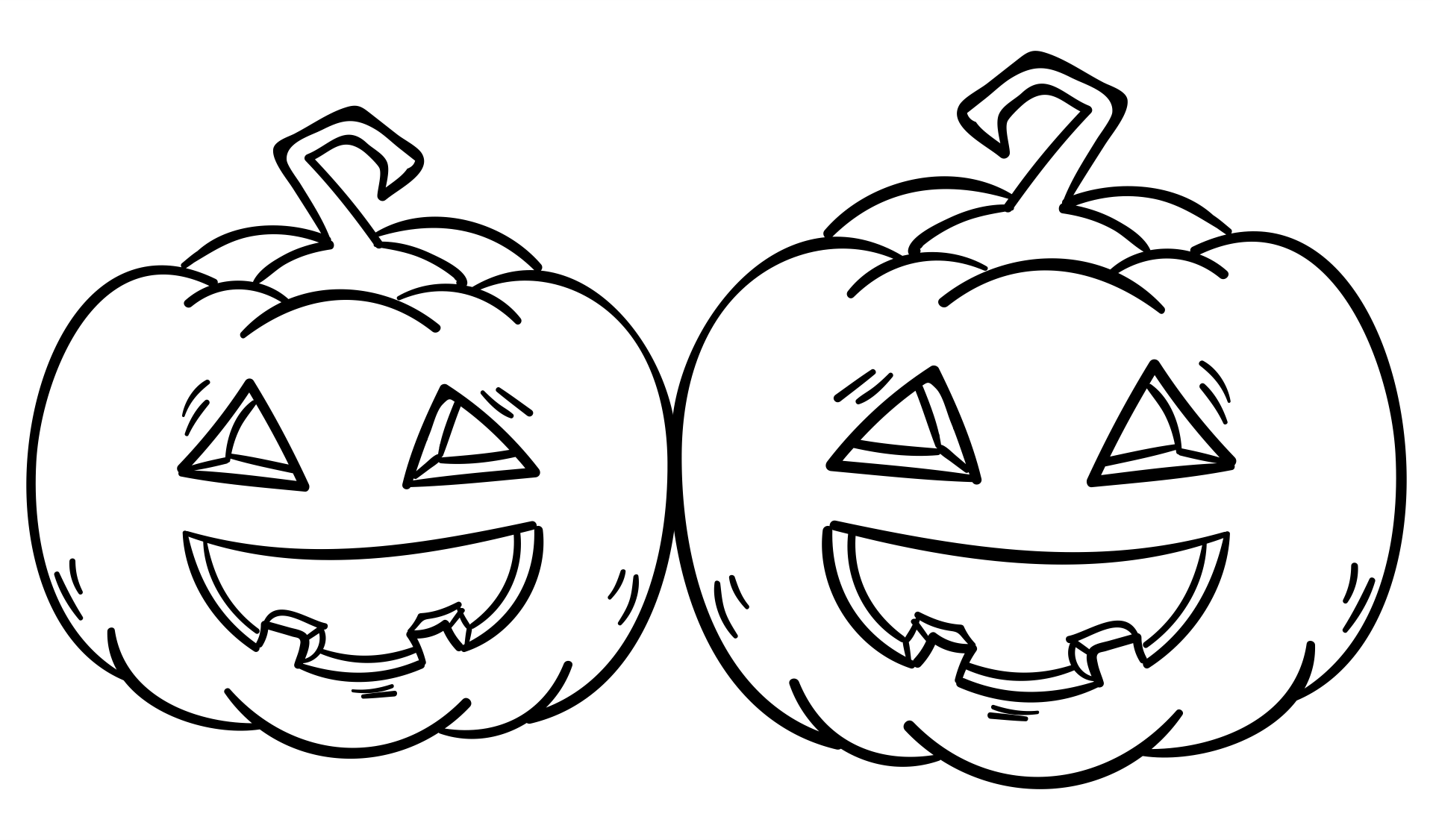 5 Images of Free Halloween Printable Pumpkins Outline