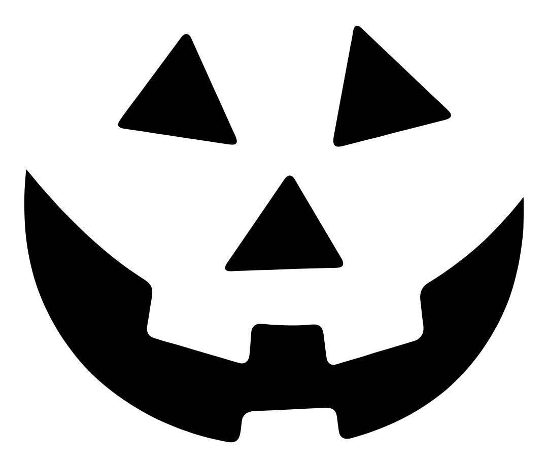Pumpkin Face Template Printable