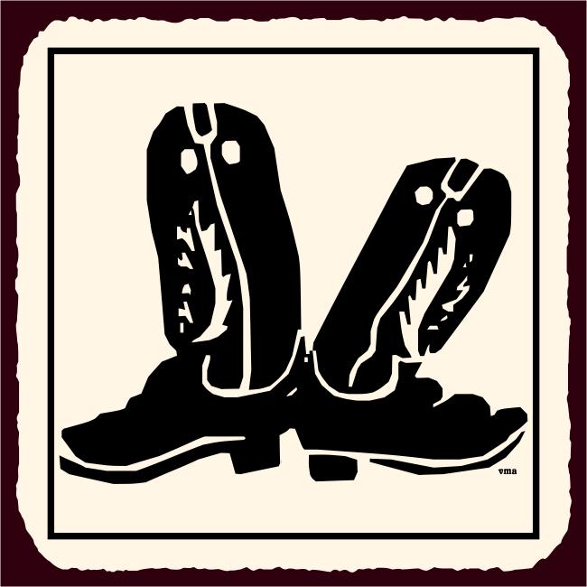 Vintage Western Cowboy Signs