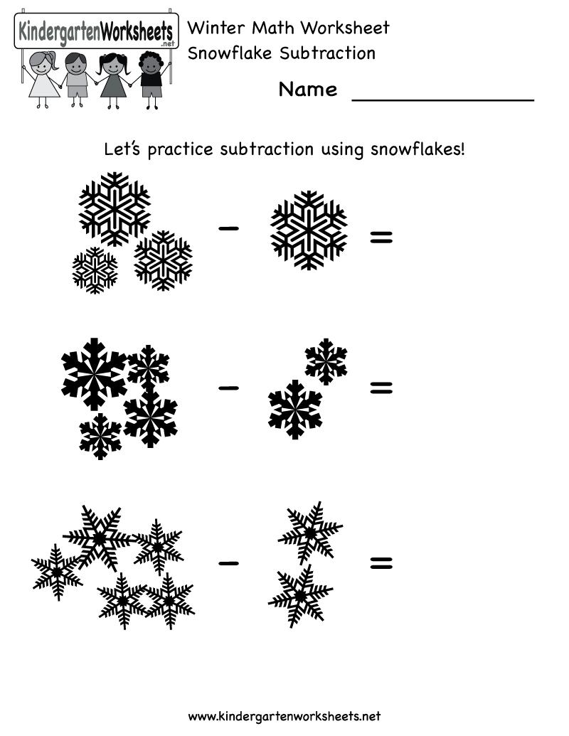 4 Images of Winter Printables For Kindergarten