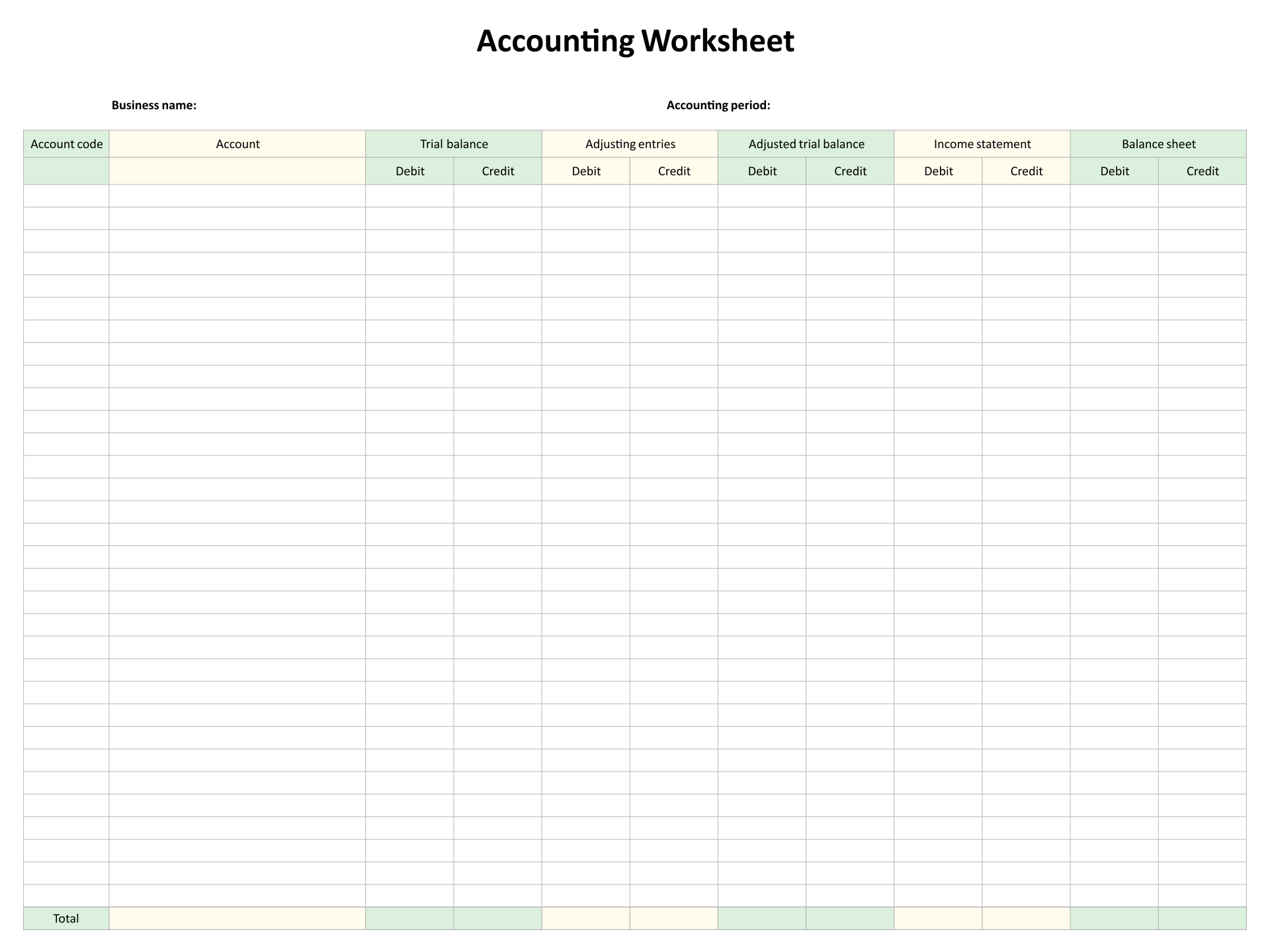 Printables Accounting Worksheet accounting worksheet plustheapp worksheet