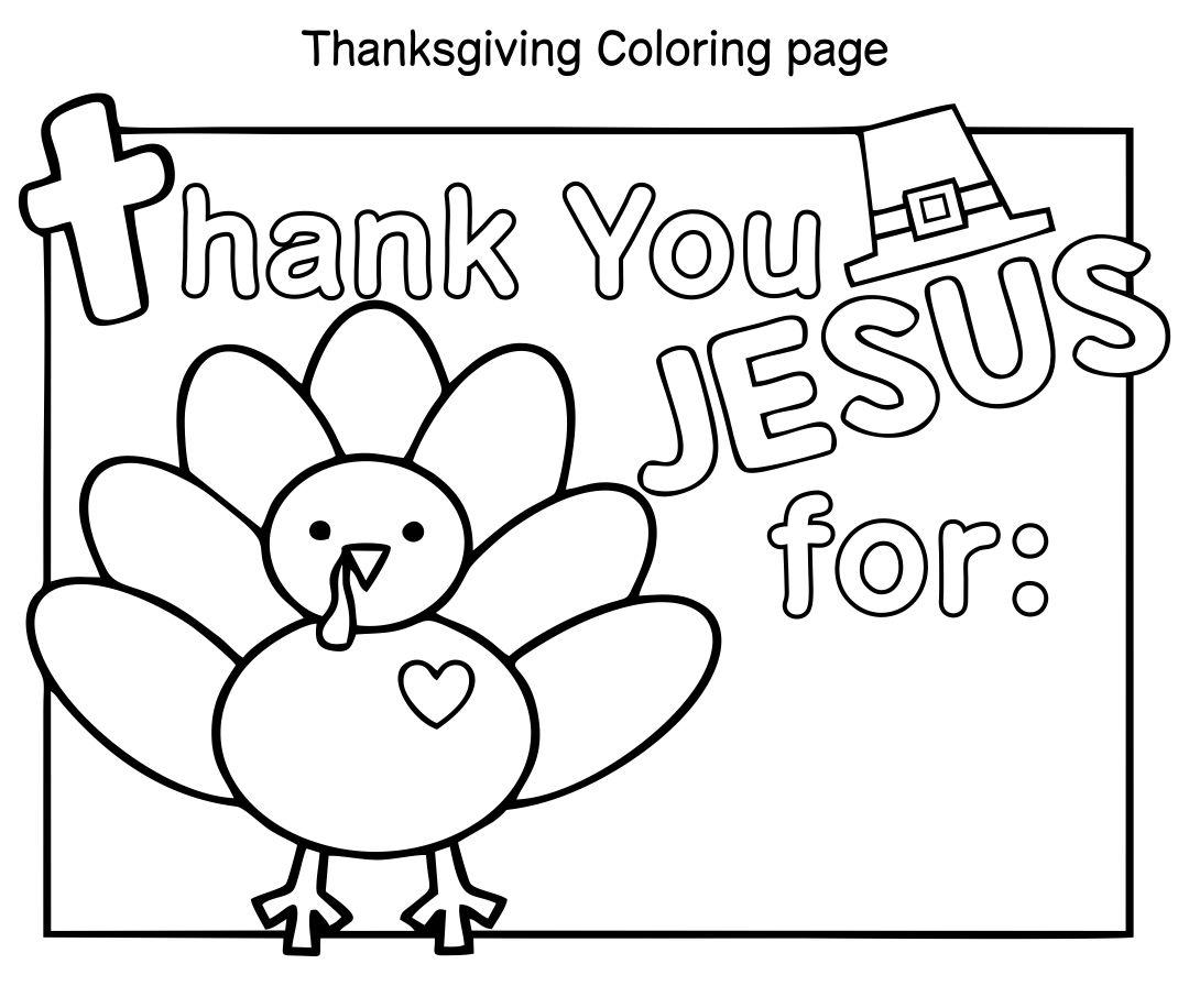 Christian Kids Thanksgiving Activity Sheets
