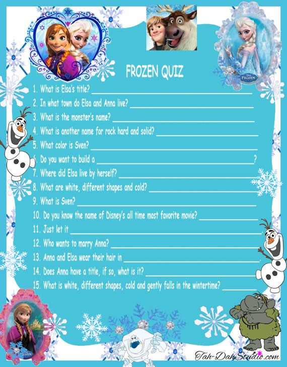 7 Images of Disney Trivia Questions Printable
