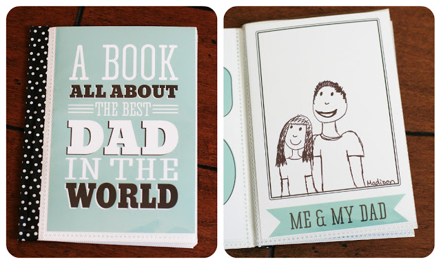 4 Images of My Dad Printable Book