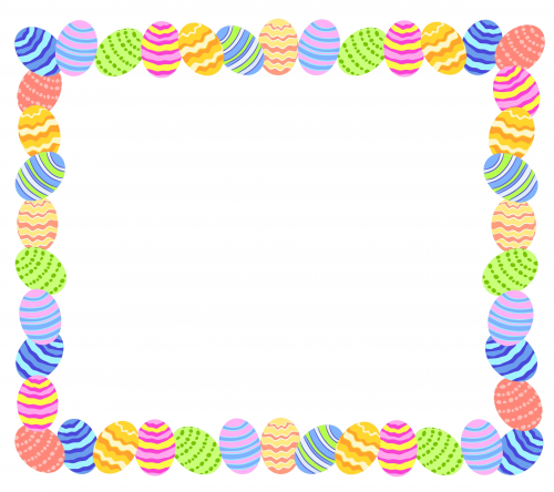 5 Images of Free Printable Easter Frames