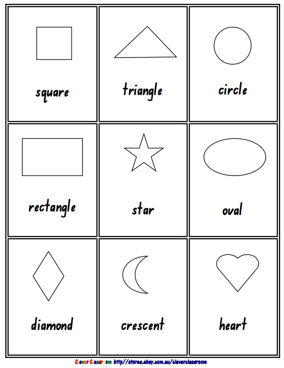 math worksheet : 6 best images of black and white shape flash cards printable for  : 3d Shapes Worksheet Kindergarten