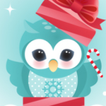 6 Images of Owl Card Holiday Printable