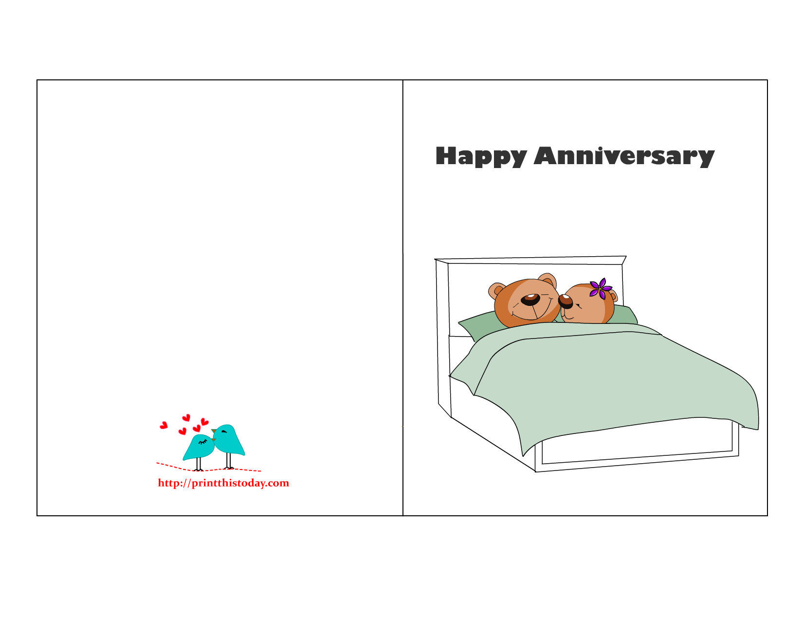 8 Images of Free Printable Anniversary Cards For Husband