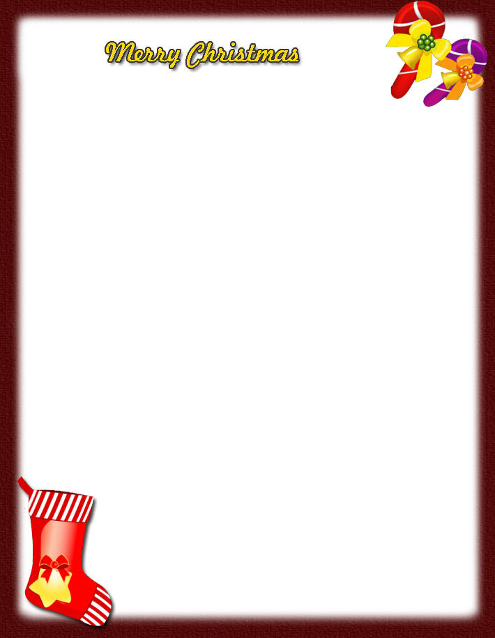 Word Christmas Letter Template from www.printablee.com