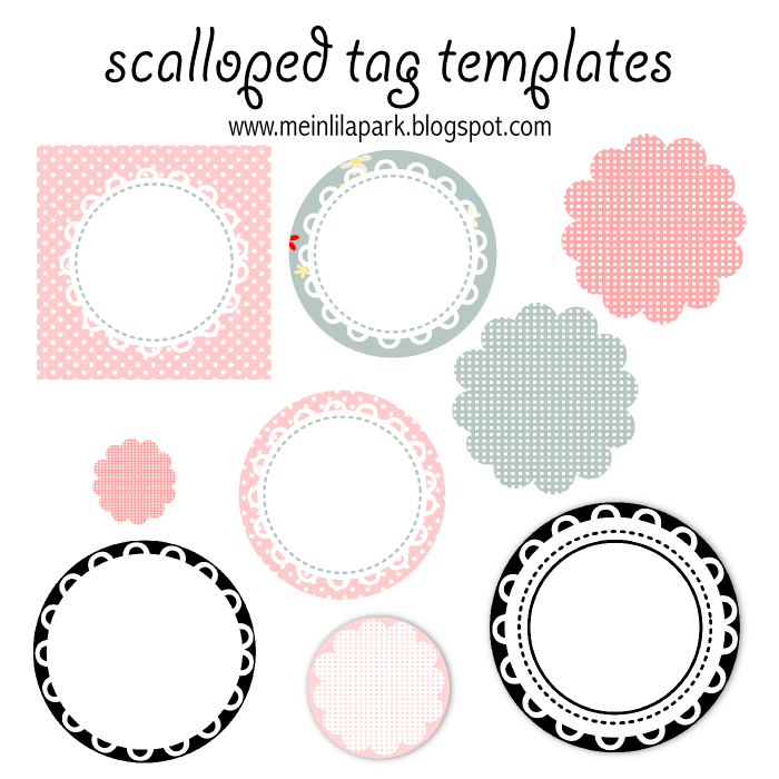 Free Printable Circle Tag Templates