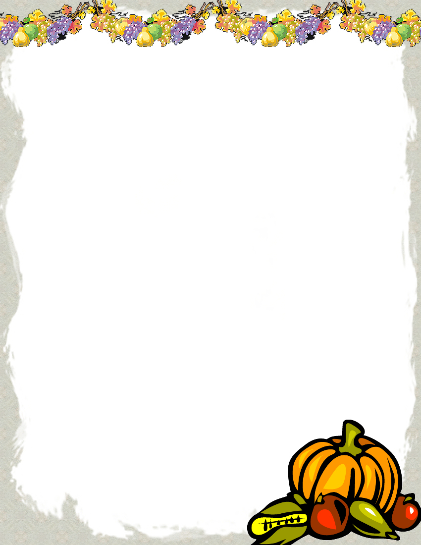Free Printable Fall Stationery Templates