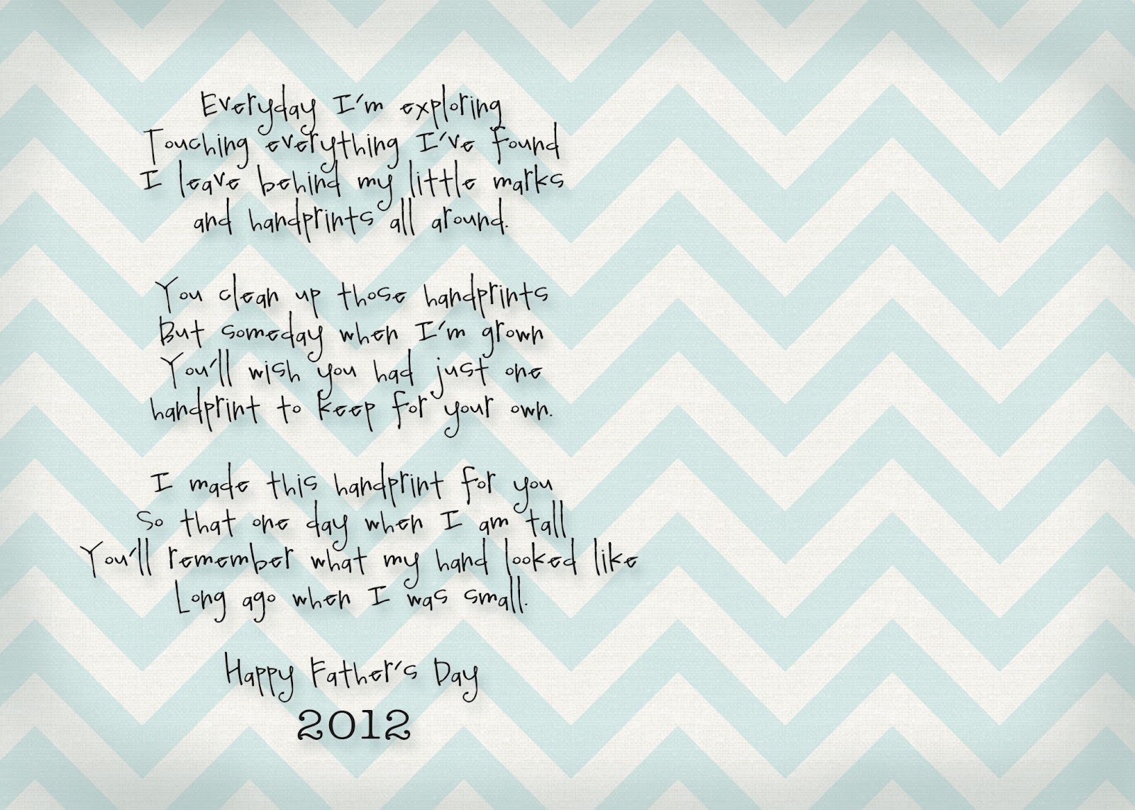 Free Printable Father's Day Poems