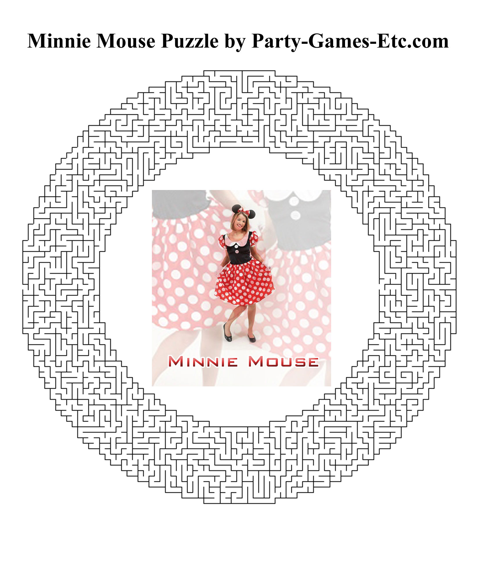 7 Images of Minnie Mouse Printable Games
