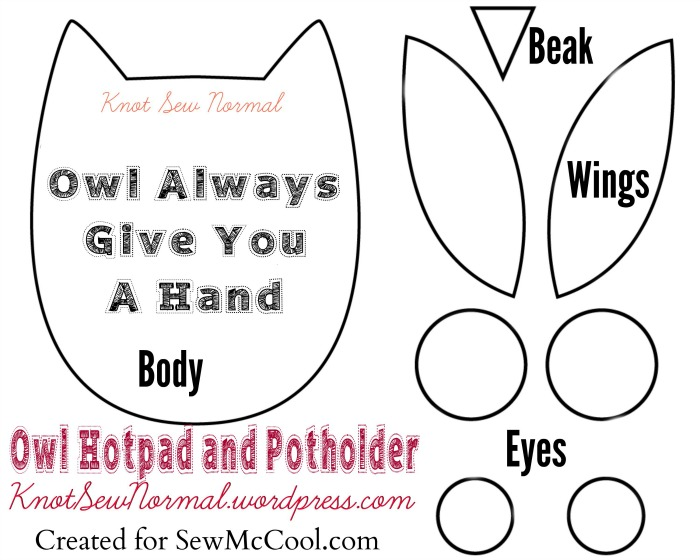 7 best images of printable easy owl pattern stuffed owl for Owl templates for sewing
