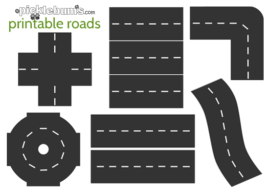 10 Images of Printable Road For Cars